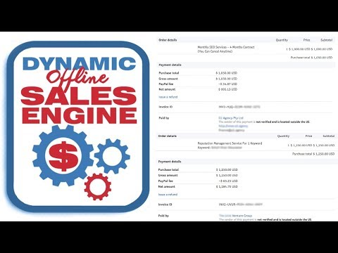 Dynamic Offline Sales Engine Review Demo Bonus - Find and Land Web Design Clients and Sell DFY Site