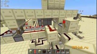 Двери 6х15 на песке, гравии [Minecraft 1.4]