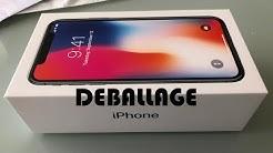 iPhone X - Déballage + Premier aperçu