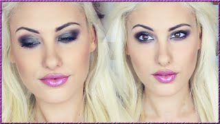 GRWM ♡ Blue Brown Eyes + Purple Lips  ♡ Stefy Puglisevich