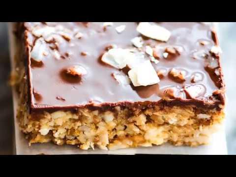 3 STEP NO BAKE CHOCOLATE COCONUT CASHEW BARS (Paleo, Vegan)