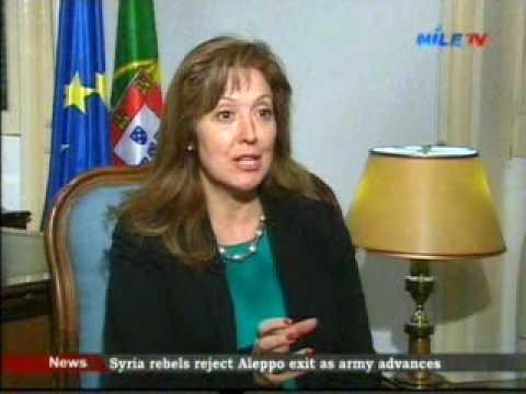 Exclusive H E Madalena Fischer Portugal Ambassador to Egypt 6 12 2016