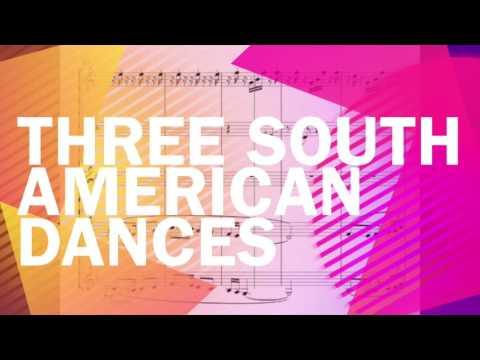 Three South American Dances For Clarinet Quintet: I. Rumba