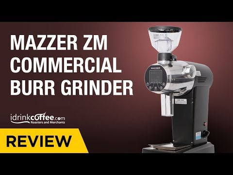 Mazzer ZM Coffee Grinder Preview