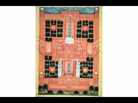 Chahar bagh - Gardens of Paradise, Explore the Taj Mahal, www.taj-mahal.net