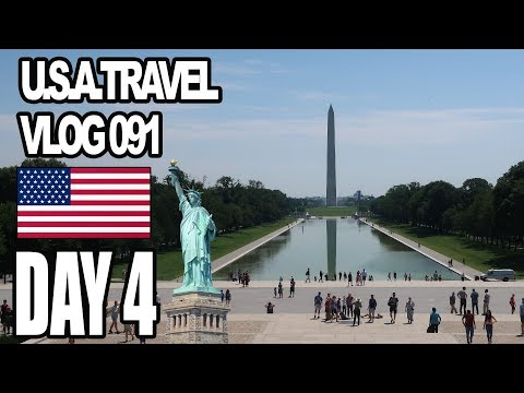 The Capital Of U.S.A.  | New York - Day 4/10 (VLOG 091)