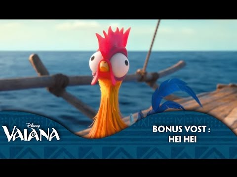 Vaiana | Bonus VF : Hei Hei | Disney BE