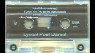 Lyrical Poet Dareel - Kandi I Love The Way You Move 1993 Milan Oh