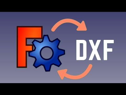 DXF files – import / export / edit