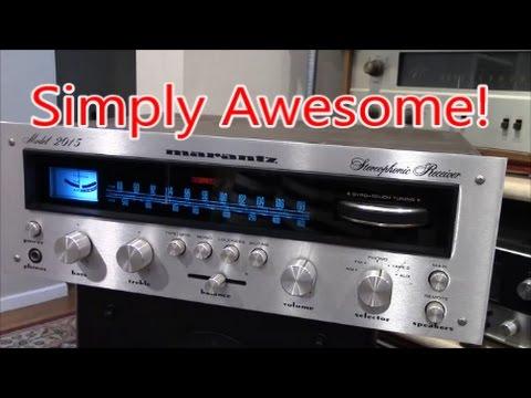 Vintage Audio Listening Experience...The Amazing Marantz 2015 Stereo Receiver