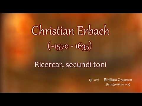 Christian Erbach, Ricercar secundi toni