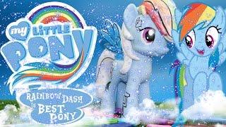 My Little Pony Укрась пони Рэйнбоу Дэш серия Crystal Empire MLP FiM Rainbow Dash Design A Pony