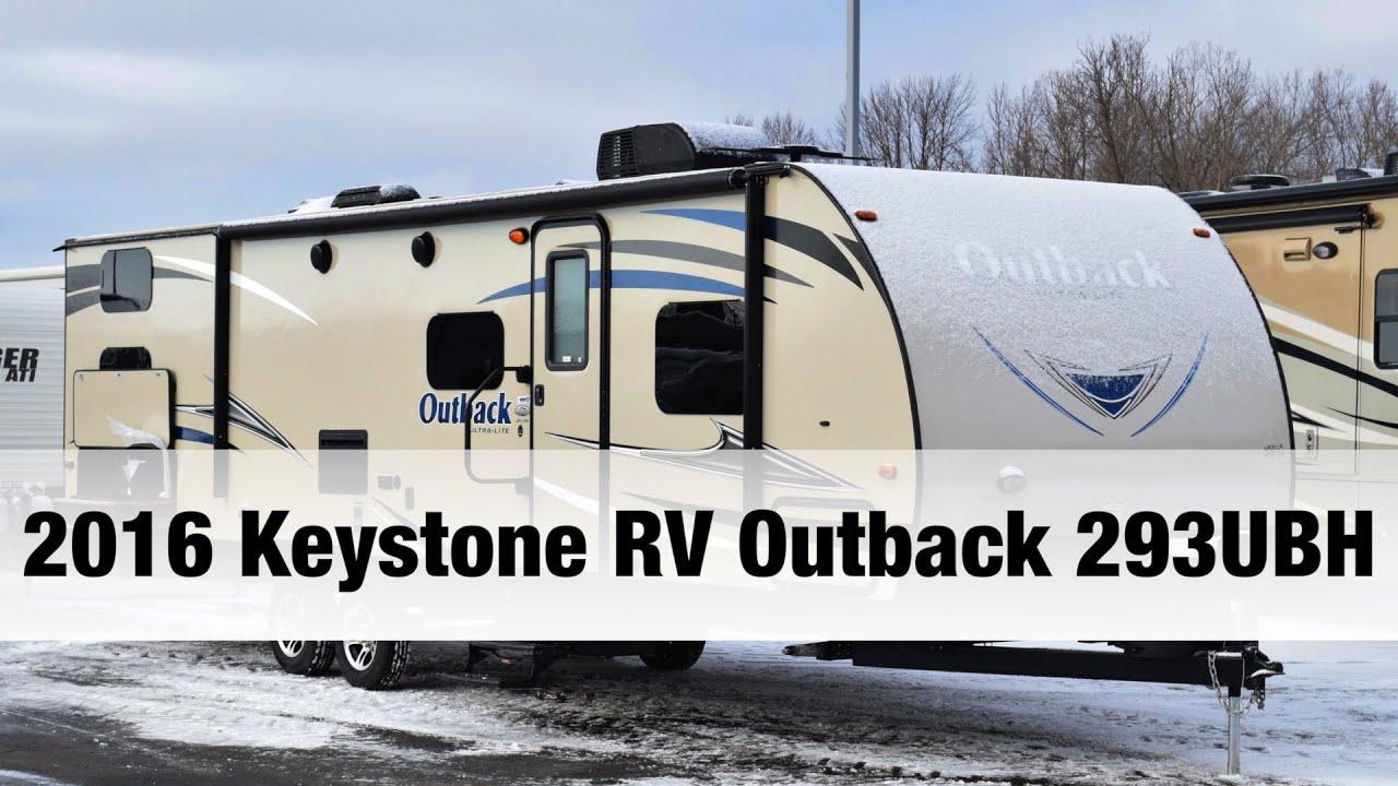 2016 keystone rv outback 293ubh bunkhouse travel trailer youtube
