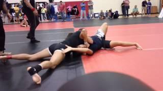 Kayla De Leon (Revolution) vs. Julie Rodriguez - GPG Texas BJJ Championship 2014