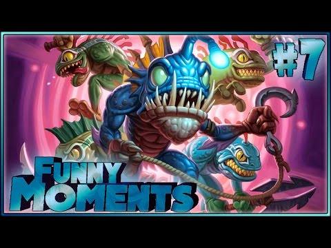 Hearthstone Funny Moments 7 - Funny and lucky Rng Moments