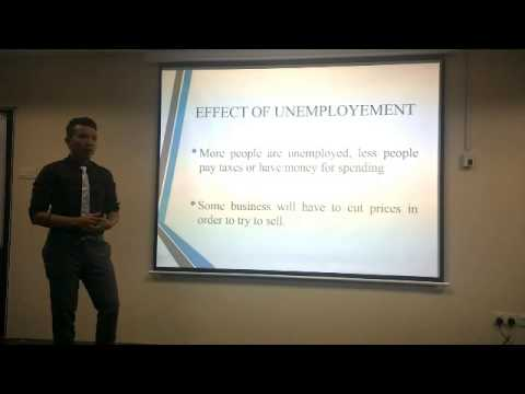 Macroeconomics Effect of Unemployment
