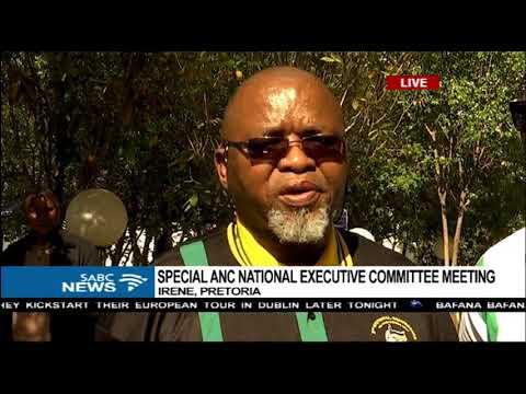 Gwede Mantashe briefs media on special ANC NEC meeting