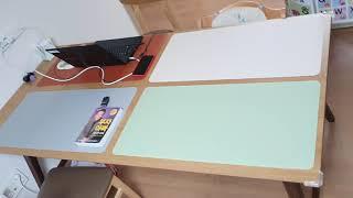 게이밍 마우스 장 패드 와이드 가죽 책상 테이블 매트 …