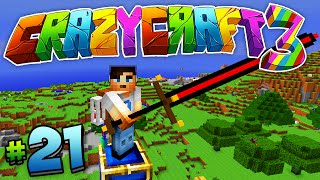 "Minecraft Crazy Craft 3.0 (Ep 21) - ""GOD SWORD!"" w/ Ali-A"