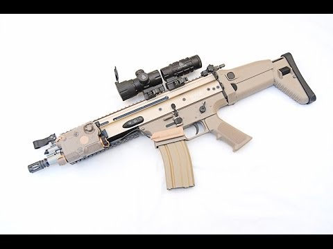 we-scar-l-gbbr-airsoft-rifle,-review-and-shooting-test-(tan-version)