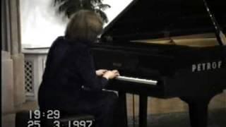 F.ChopinBalada č.3 As dur op.47( úryvok) Sylvia Čápová Vizváry