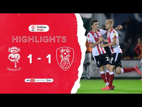 Lincoln Rotherham Goals And Highlights