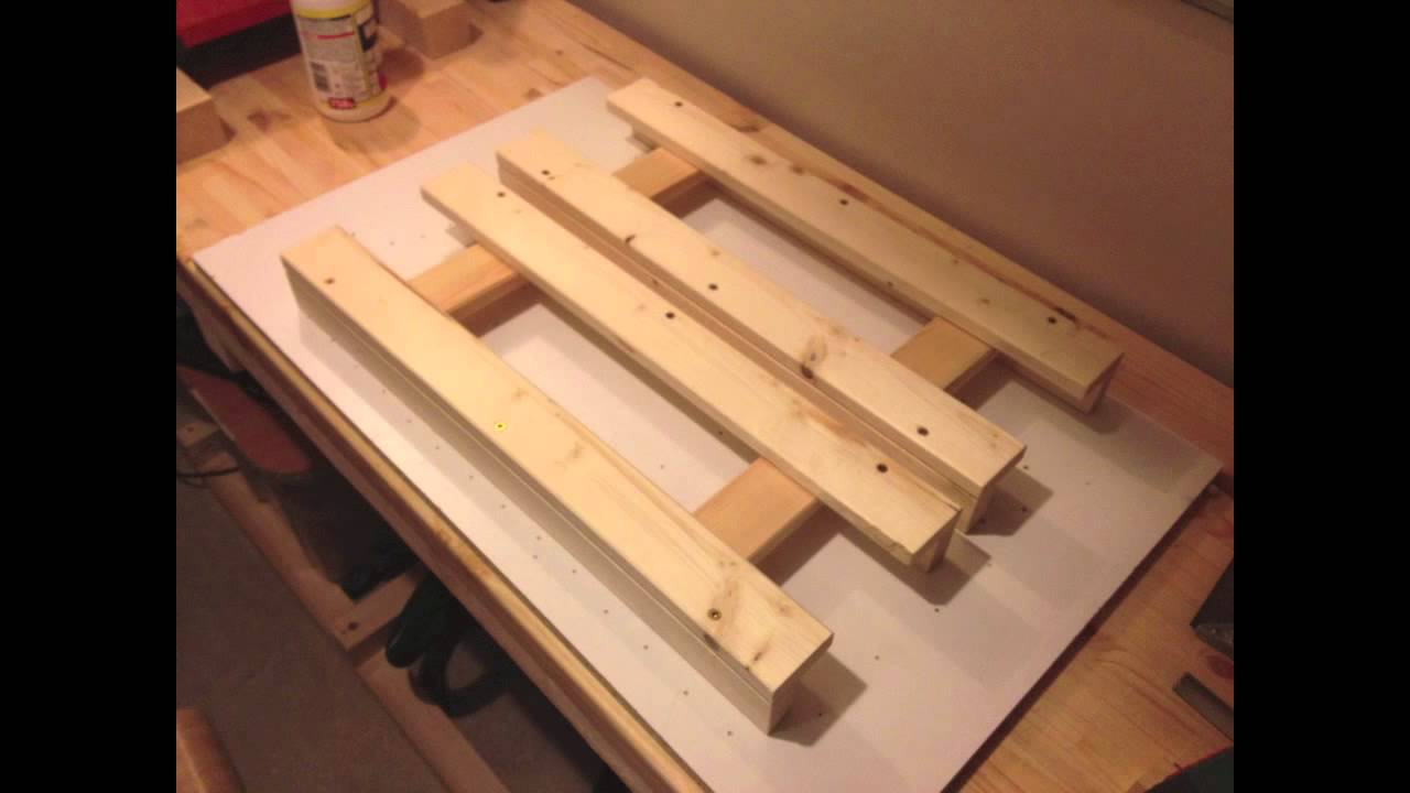 make a folding table machen sie einen klapptisch youtube