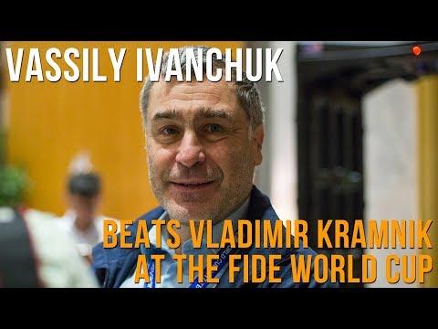 Vassily Ivanchuk on beating Vladimir Kramnik at the World Cup