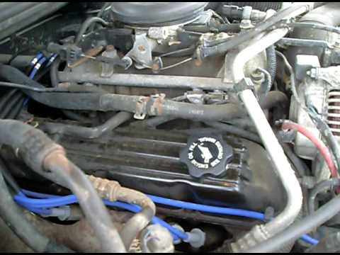 5 2l Grand Cherokee Engine Noise Youtube