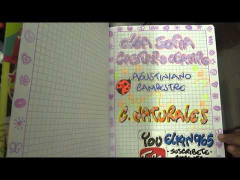 Como marcar un cuaderno con marcadores economicos Doovi