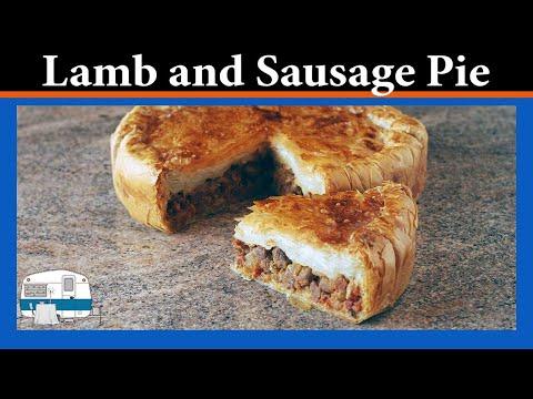 Lamb and Sausage Pie