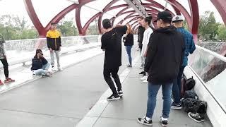 Peace bridge, Calgary, Canada, Sep. 2019
