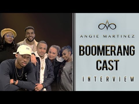 The Cast of BET's 'Boomerang' talks Continuing The Story of The Hit Movie