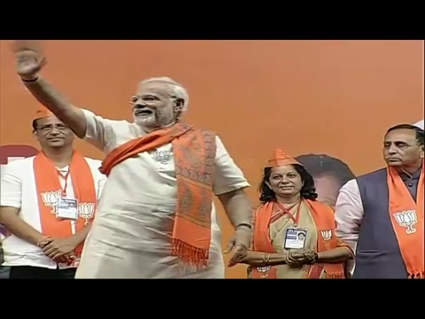 PM Shri Narendra Modi addresses public meeting in Vadodara, Gujarat :  10.12.2017