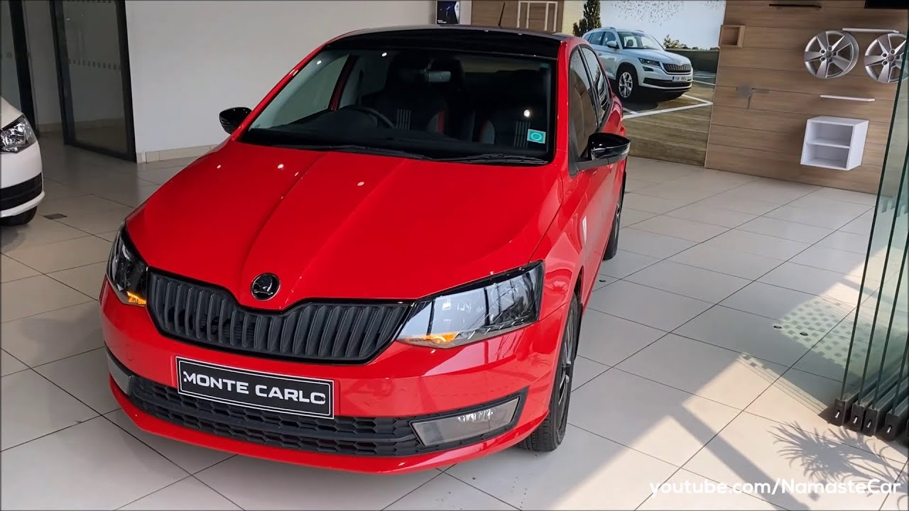 Škoda Rapid Monte Carlo 2021- ₹13 lakh   Real-life review