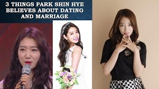 Video 3 Things Park Shin Hye Believes About Dating And Marriage download MP3, 3GP, MP4, WEBM, AVI, FLV Maret 2018
