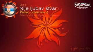Karaoke Zeljko Joksimovic Nije ljubav stvar TodaKaraoke