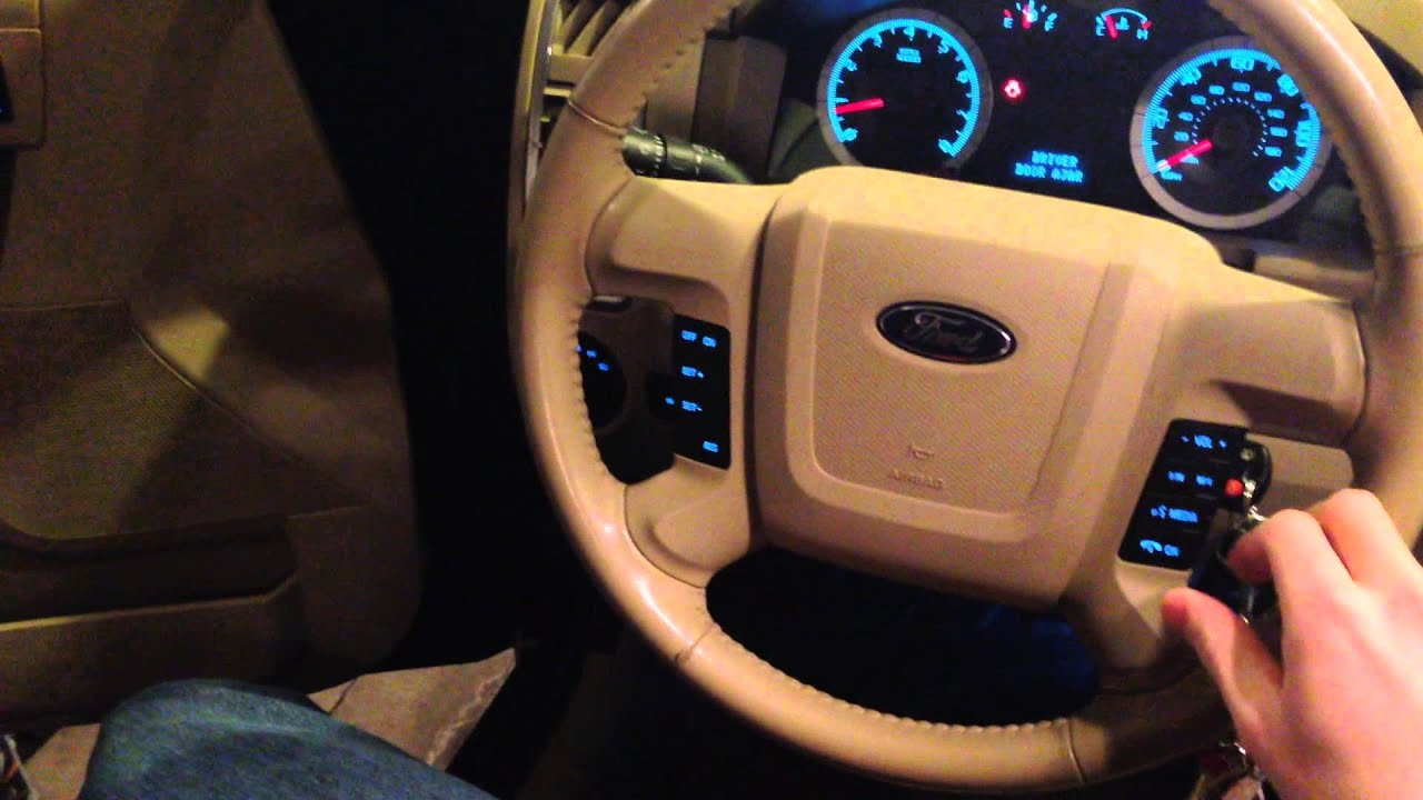 hight resolution of ford escape steering column issues