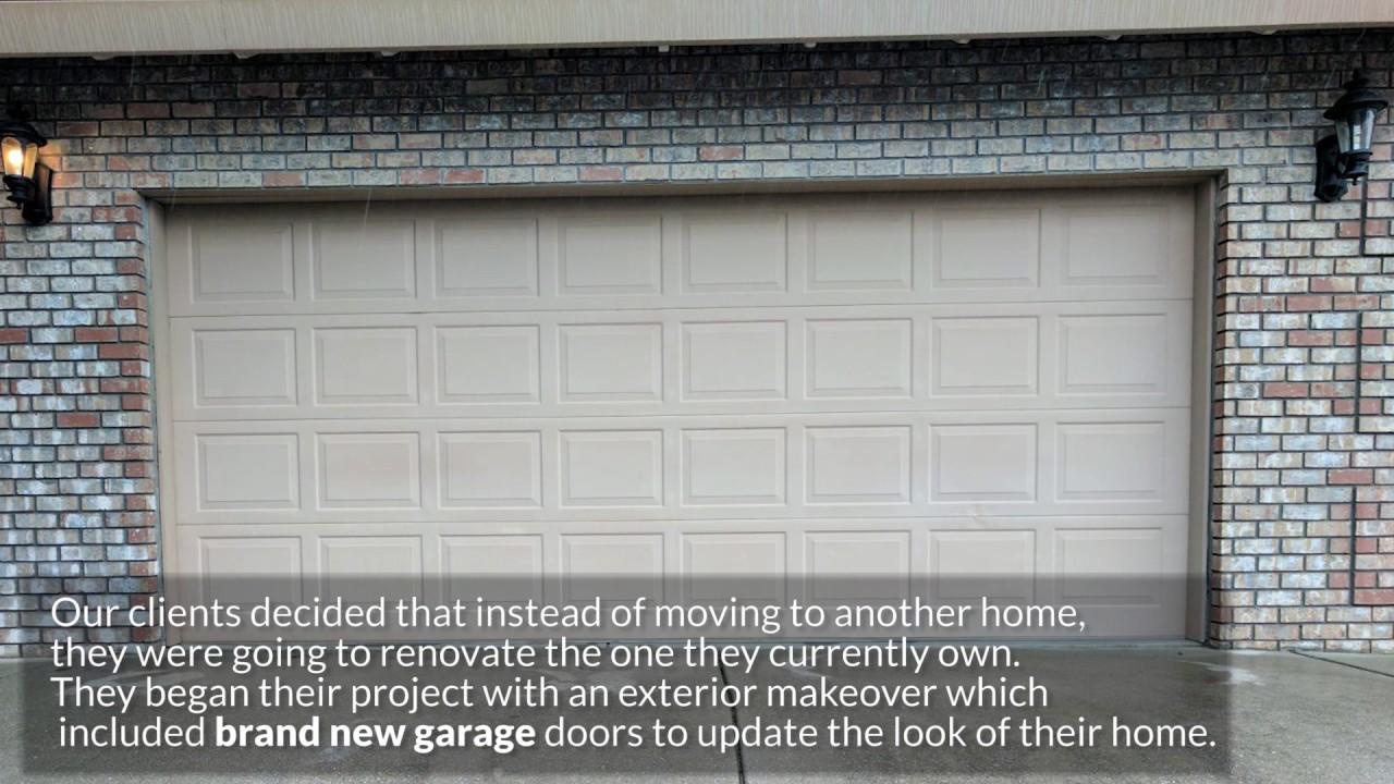 Clopay Modern Glass Garage Door Installation Youtube