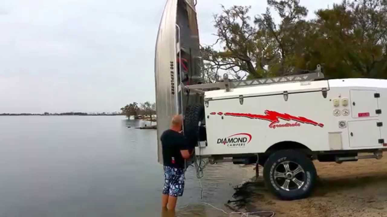 Camper Or Vehicle Boat Lift Remote Youtube