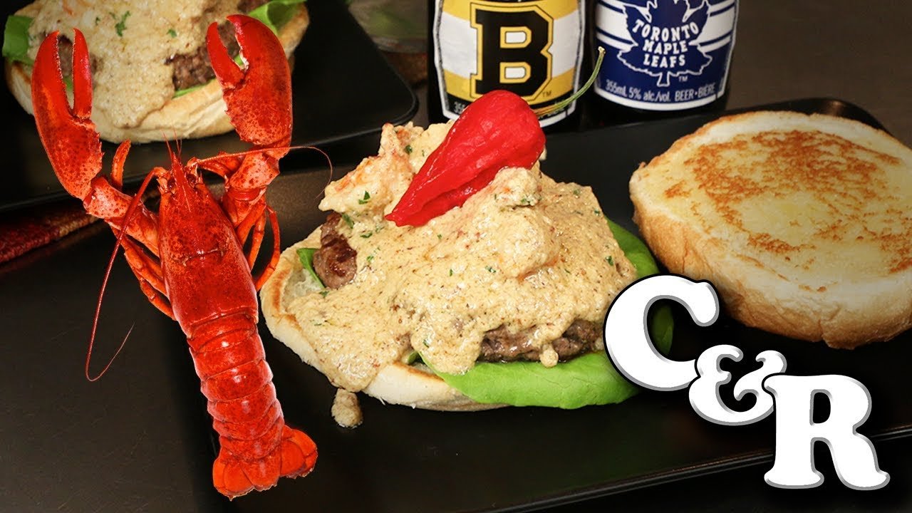 Lobster Newburg Angus Burgers ???? ???? - Cook & Review Ep #57