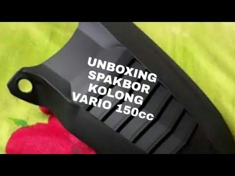 Unboxing Spakbor Kolong Vario 150 & Karpet Pijakan Vario 150