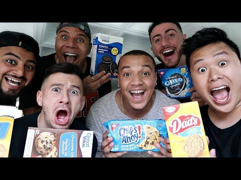 COOKIE TASTE TEST!! (BRAND NAME VS NON BRAND NAME EXPERIMENT)