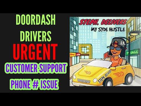 doordash driver support