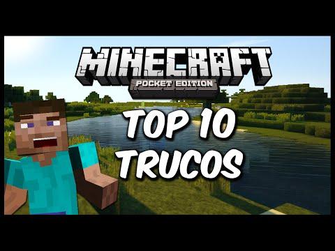 Top 10 trucos Minecraft Pocket Edition 0.10.5