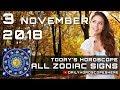Daily Horoscope November 3, 2018 for 12 Zodiac Signs