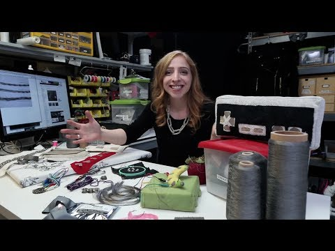 Conductive Textiles at Adafruit - Becky Stern Explains