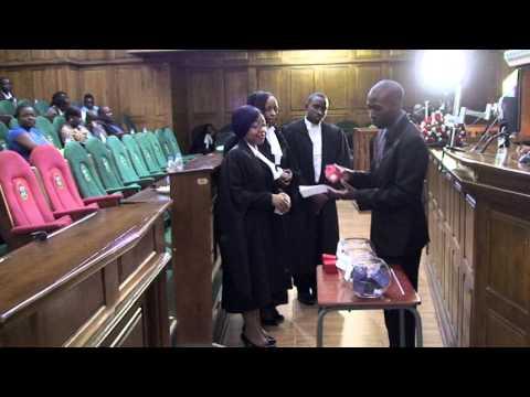 Great Zimbabwe University Moot Competitions 2015 part 1