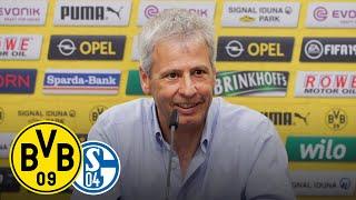 Derby-Time | PK mit Lucien Favre und Michael Zorc | Borussia Dortmund - Schalke 04