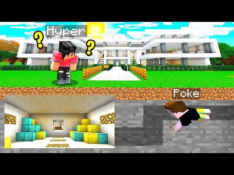 I Dug A SECRET TUNNEL Under His Home.. HE GOT SO MAD!! (Minecraft)